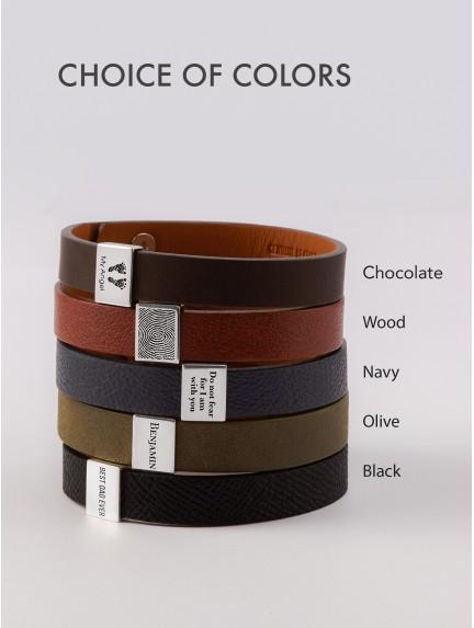 Actual Paw Print Bracelet