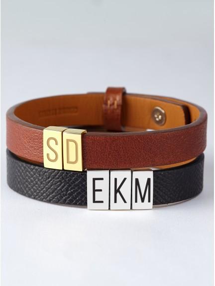 Kids' Initial Bracelet For Dad