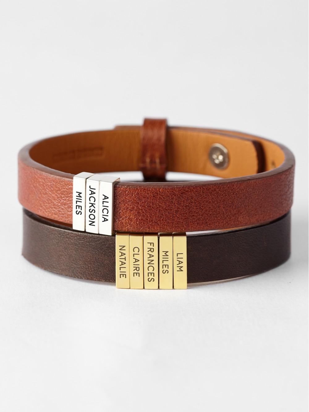 Children's Name Bracelet For Dad