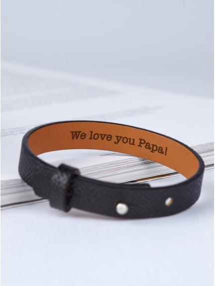 Secret Message Bracelet For Dad