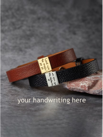 Handwriting Bracelet for Men