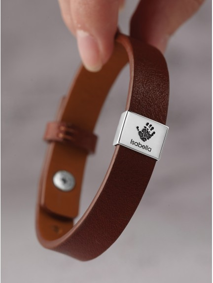 Baby Handprint Band Bracelet