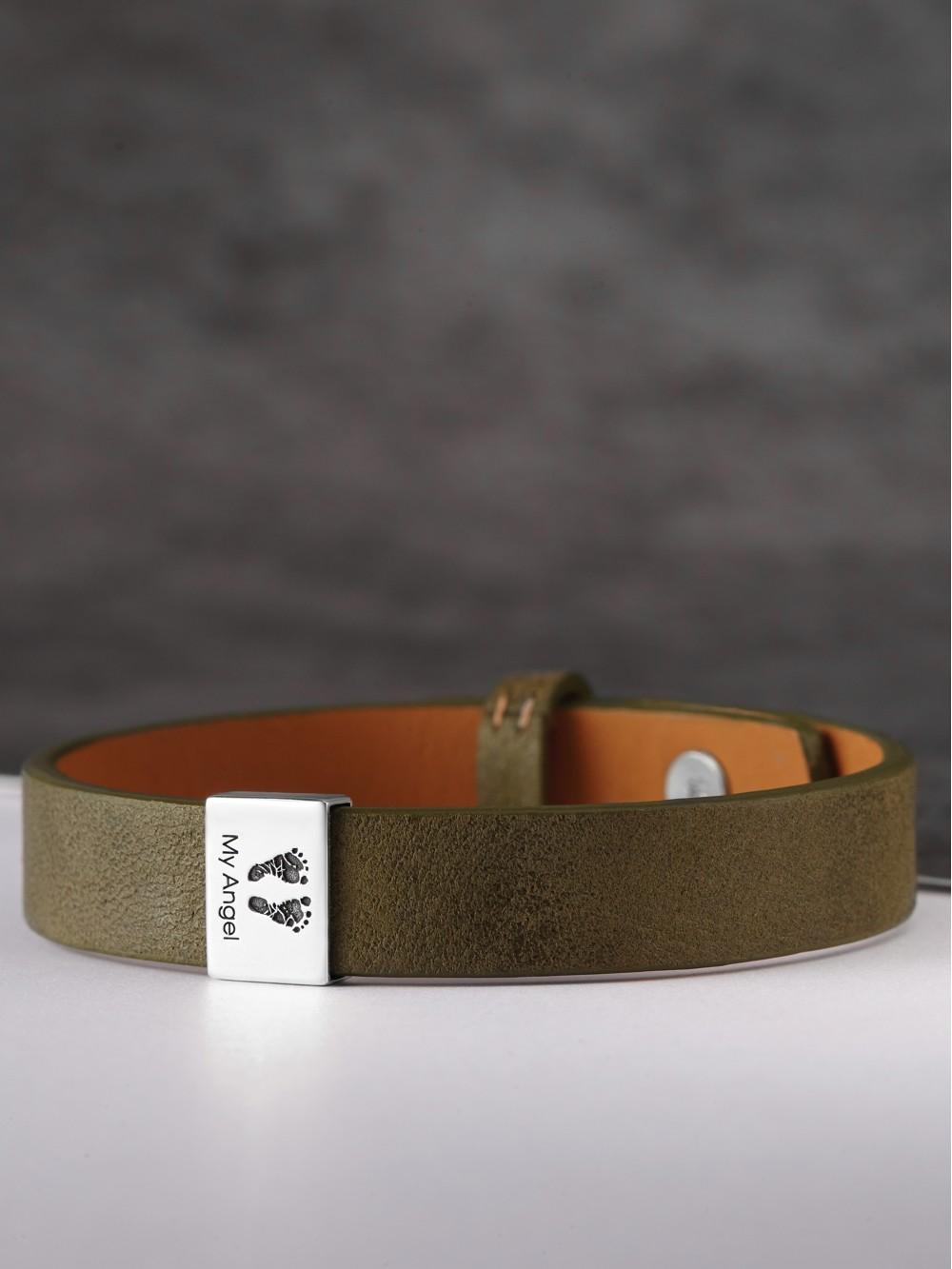 Baby Footprint Band Bracelet