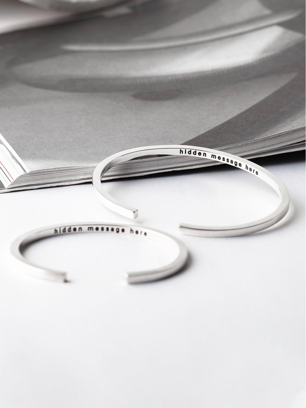 Secret Message Couple Bracelets
