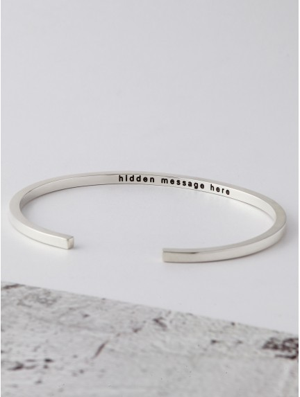 Secret Message Bracelet for Him