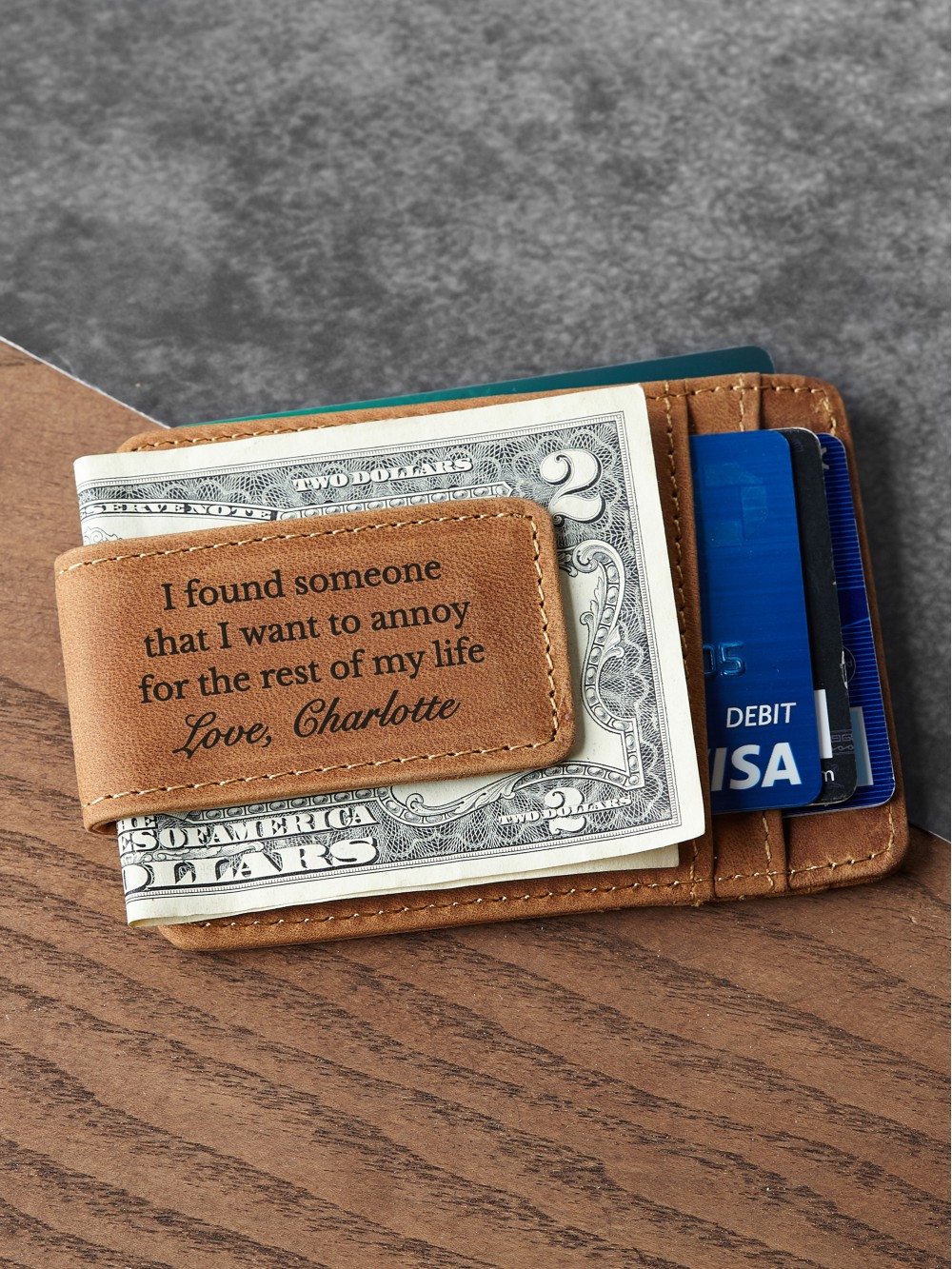 Personalized Money Clip For Him