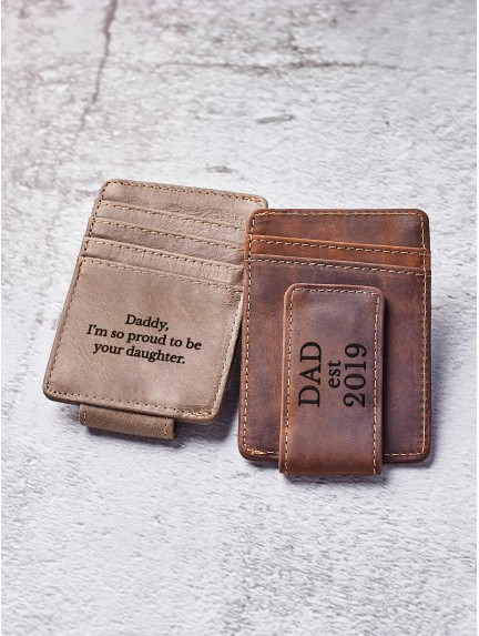Personalized Money Clip For Dad
