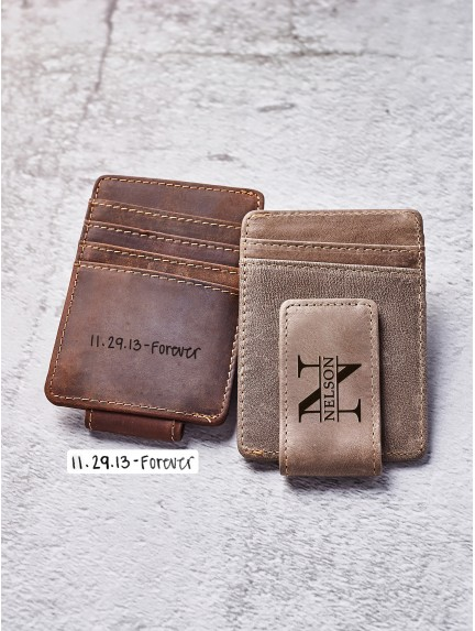 Personalized Money Clip With Handwriting