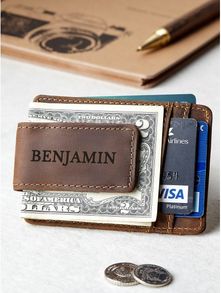 Personalized Money Clip For Men