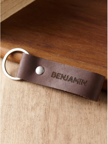 Personalized Name Keychain for Him