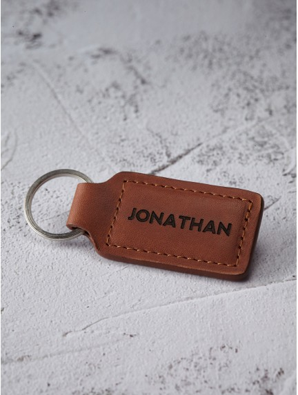 Custom Name Keychain for Men