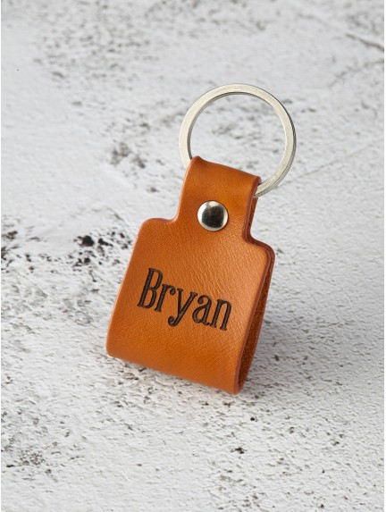 Couple Name Keychain