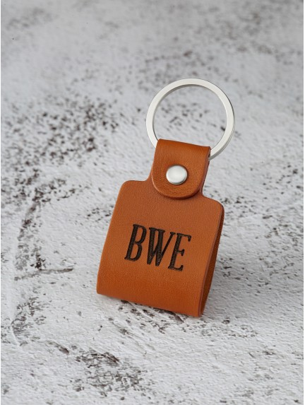 Couple Initials Keychain for Boyfriend