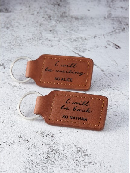 Long Distance Relationship Keychains - Deployment Keychains
