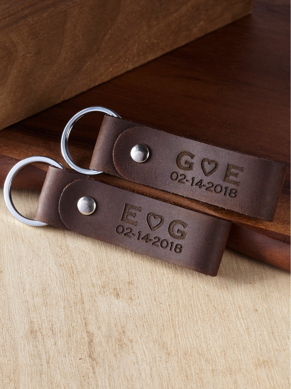 Personalized Keychains for Couples - You're My Person