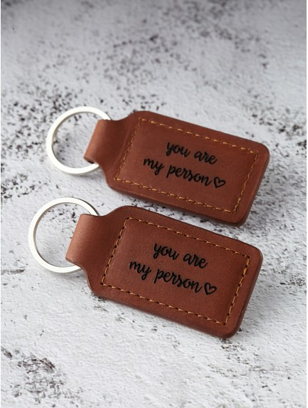 Couples Keychains - You're My Person