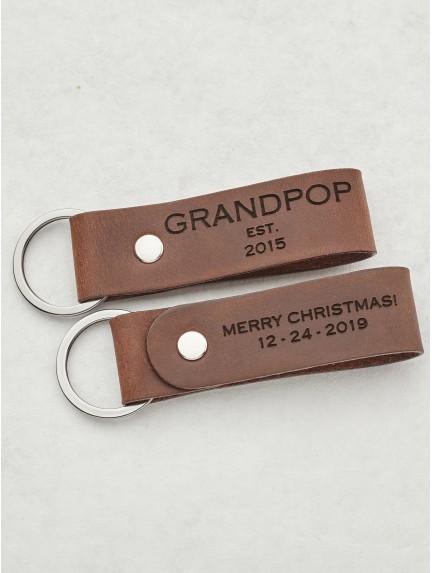 New Grandpa Keychain - Grandpa est.
