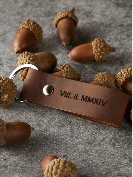 Anniversary Keychain - Roman Numerals