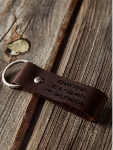 Bible Verse Keychain For Him