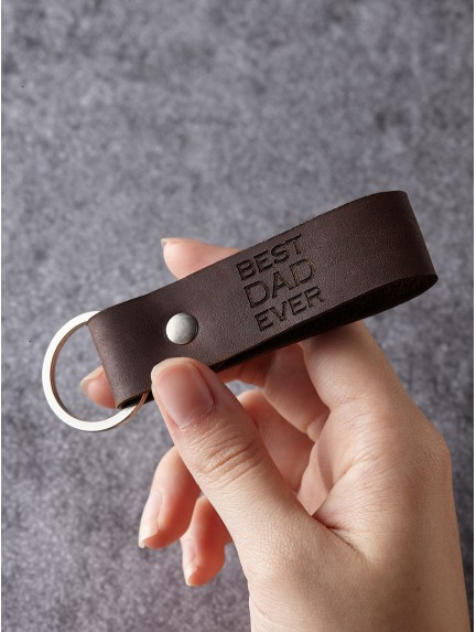 Dad Keychain - Best Dad Ever