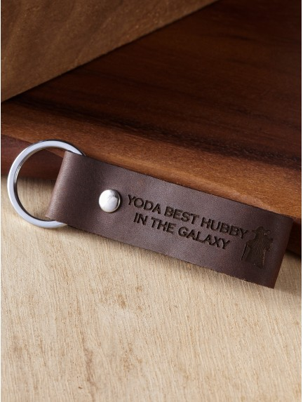 Star Wars - Yoda Best Dad in the Galaxy Keychain