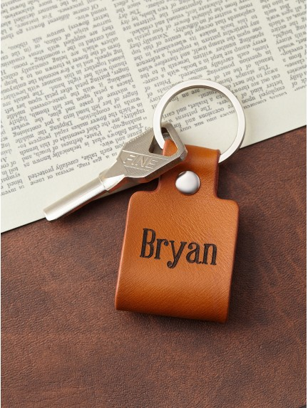 Couple Name Keychain