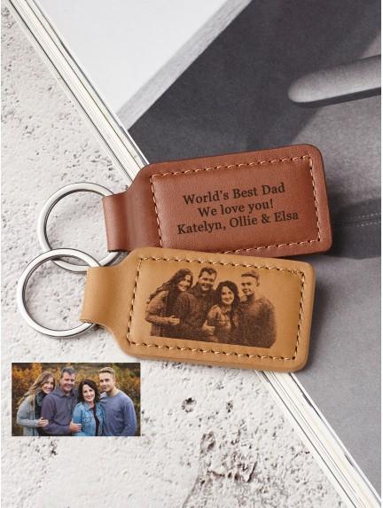 Family Photo Keychain