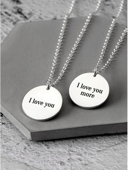 Relationship Necklaces - Initials & Dates