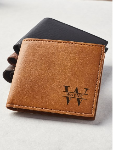 Personalized Handwriting Wallet - Vegan Leather